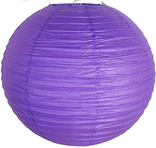 Just-Artifacts-14-Royal-Purple-ChineseJapanese-Paper-LanternLamp-14-Diameter-Just-Artifacts-Brand