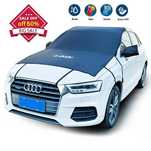 Large Windshield (A-DUDU Premium Car Windshield Snow Cover - Extra Large 81