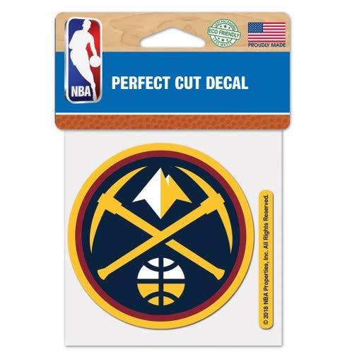WinCraft NBA Denver Nuggets Perfect Cut Color Decal, 4