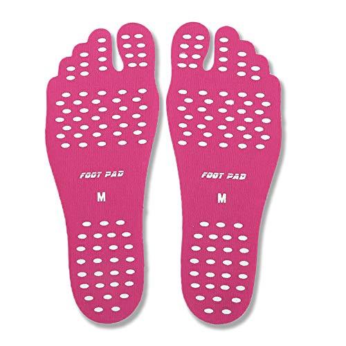 Suole Spiaggia Scarpe Spa Pink Di Parco Prato 1 Impermeabile E Da In Piscina Nudi Per Piedi Adesivi Paio Spiaggia Piedini Antiscivolo Acqua Design Strada Tappetini A Invisibile Con w0pxFp7OSq