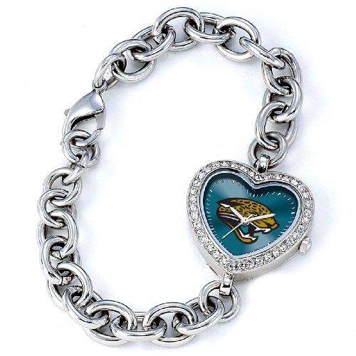 NFL Women's FH-JAC Heart Collection Jacksonville Jaguars -
