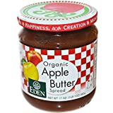Eden Foods, Organic Apple Butter Spread, 17 oz (482 g) - 2pcs