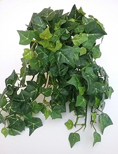 "11"" Green Mini English Ivy Bush Plant Silk Wedding Craft Flowers N109/231W"
