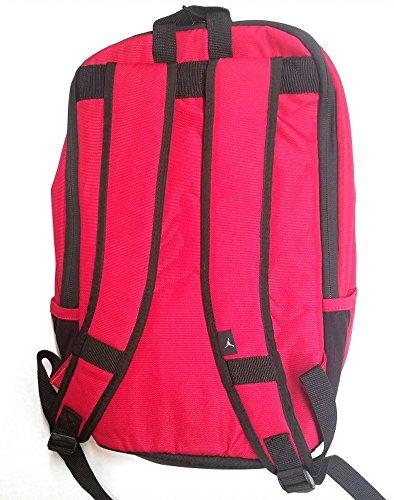 Red Backpack Jordan Black R78 9A1687 Classic Nike Jumpman wCOxnAqxB
