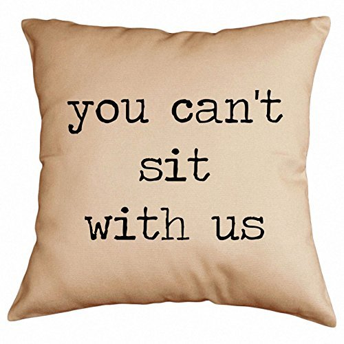 Retrospect Group You Can't Sit with Us Throw Pillow [並行輸入品] B07R6YWZNR