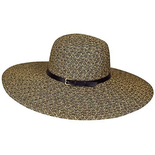 Betmar Women Ramona Straw Braid Floppy Hat Rattlesnake One Size Fits Most