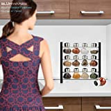 Spice Rack Stand Holder with 12 Bottles | Sleek & Attractive Stand holder Keep a Dozen Flavors Close at Hand (Spices Not Included)