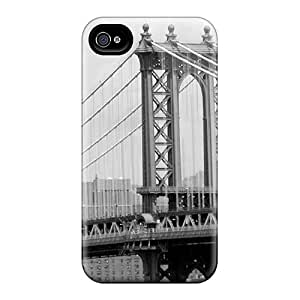 BJBcke GrxmSAC4637LPNQc Case Cover Skin For Iphone 4/4s (brooklyn Bridge)