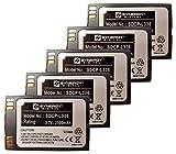 ''Synergy Digital Cordless Phone Batteries - Replacement for NORTEL BATT-BPL200, BPL100, PBP0850 Cordless Phone Batteries (Set of 5)''