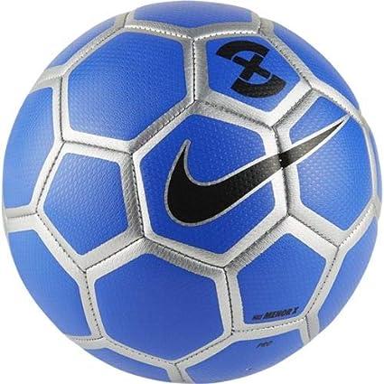 Nike Balón de Fútbol Sala Menor X Football Azul/Gris: Amazon.es ...