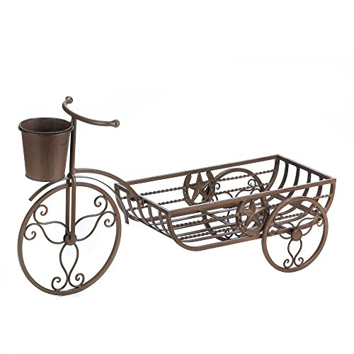 Lonestar Horseshoe Bicycle Planter (Fixie Rollers)