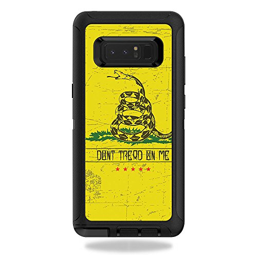 MightySkins Skin OtterBox Defender Galaxy Note 8 - Dont Tread | Protective, Durable Unique Vinyl Decal wrap Cover | Easy to Apply, Remove Change Styles | Made in The USA from MightySkins