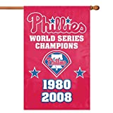 Party Animal Philadelphia Phillies- 2 Time Champs Banner MLB Flag For Sale