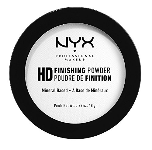 NYX PROFESSIONAL MAKEUP High Definition Finishing Powder, Translucent, 0.28 Ounce]()