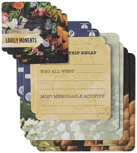 BO Bunny 18926248MISC Me bolsillo cuadrados de tarjetas de cartulina (Pack de 96), calendario Chica, Multicolor