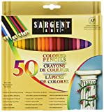 Sargent Art 50x2 22 7251 Colored Pencils 2 Packs Of 50 Assorted Colors