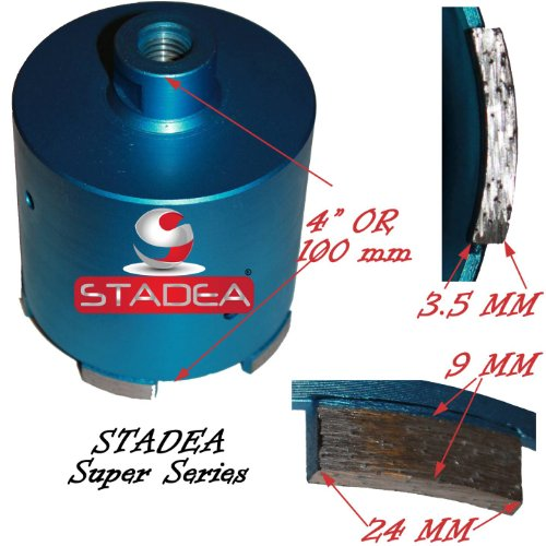 3 inch concrete diamond hole saw - Granite Tile Masonry Stone Marble Wet Dry Core Drilling Coring Drill Bits by STADEA