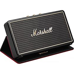 Marshall Stockwell Stereo Bluetooth Speaker with Case - Black