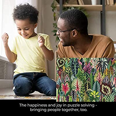 Sunday88 Puzzles 1000 Pieces for Adults, Indoor Jigsaw Puzzles Toys (Kinds of Leaves): Arts, Crafts & Sewing