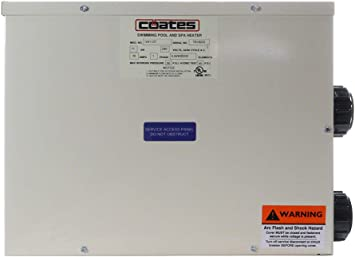 Poolcorp Poolfx Coates 11 Kilowatt Electric Spa Heater 37 543 Btu S Swimming Pool Heating Products Amazon Com
