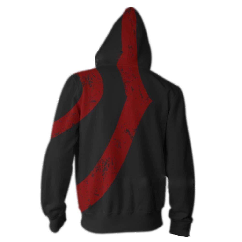 Amazon Com Hot Topic God Of Wars Kratos Hooded Fleece