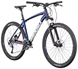 Diamondback Bicycles Overdrive Sport Hardtail Mountain Bike, Dark Blue, 22″/X-Large For Sale