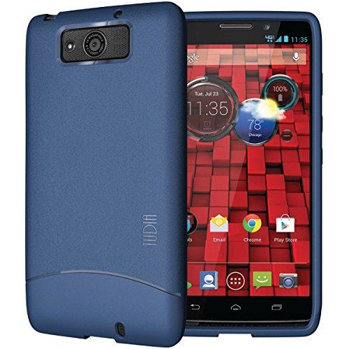 TUDIA Full-Matte ARCH TPU Bumper Protective Case for Motorola Droid Maxx (Late 2013) XT1080M (Matte - Case Droid Maxx Phone