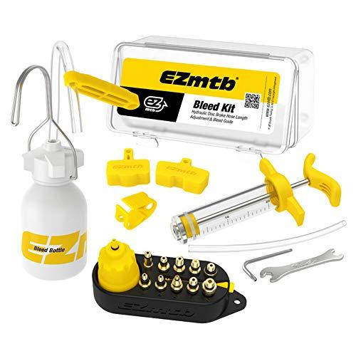 Ontluchtingsset EZ MTB Luxe – incl. metalen adapters