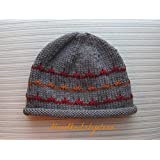 "Knitting Pattern Hat ""Autumn"" in Size Adult"
