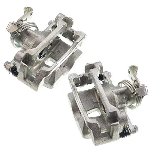 A-Premium Brake Caliper with Bracket for Buick Terraza Chevrolet Uplander Pontiac Montana Saturn Relay 2005-2009 Rear Left and Right 2-PC