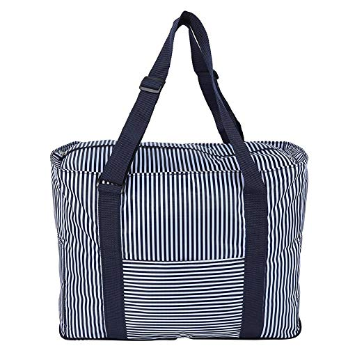Foldable Duffel Bag Large Size Lightweight & Multifunction,Foldable Nylon Luggage with Water Rresistant for Travel…