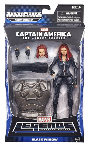 Marvel Legends Infinite 6 Inch Action Figure Captain America Winter Soldier - Black Widow -