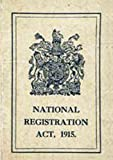 WW1 Replica Identity card from the Great War
