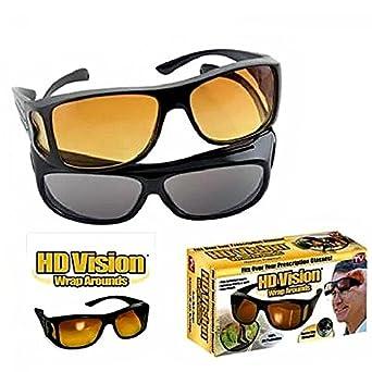 3696a26b5b Teesta Unisex Wear Over Prescription Glasses Polarized Sunglasses Sunglasses  and Night Vision Glasses Combo Pack  Amazon.in  Amazon.in