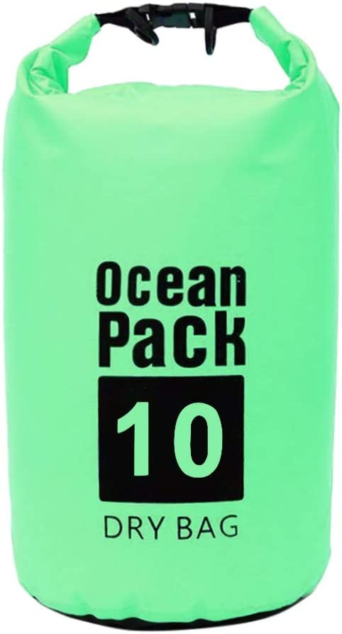 Business Anti Theft Slim Durable Backpack Port,Water Resistant College School Bag for Canoe Floating Boating Kayaking Camping Dry Bag Sack 10L Waterproof Backpack Aleola Travel Backpack