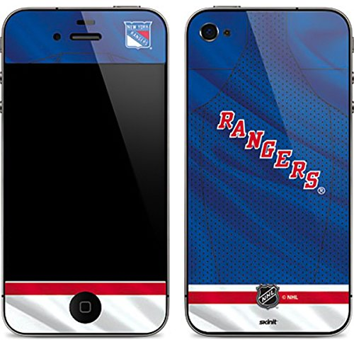 Skinit New York Rangers Home Jersey iPhone 4&4s Skin - Officially Licensed NHL Phone Decal - Ultra Thin, Lightweight Vinyl Decal Protection (New York Rangers Iphone 4 Case)