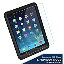 Lifeproof Nuud Tempered Glass Screen Protector, Encased (R40) ShatterProof Screen Protection Guard (case not included) (iPad air 2)