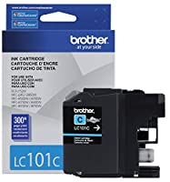 Brother Printer LC101C Cyan Ink Cartridge by Brother Printer