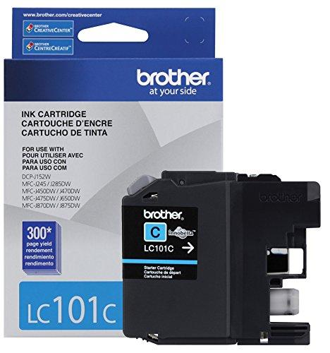 Brother Printer LC101C Cyan Cartridge