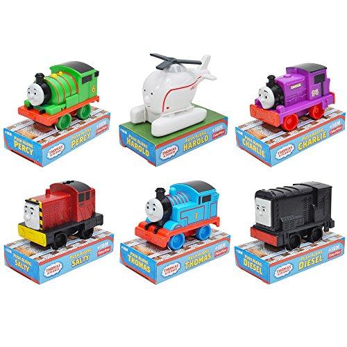 Thomas & Friends 6pc Set Push Along 4