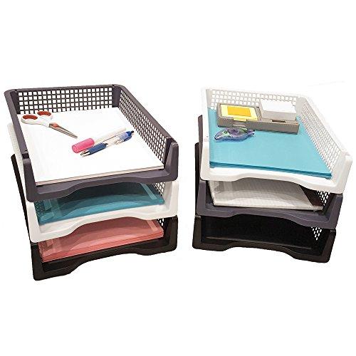 paper holders for desk. Black Bedroom Furniture Sets. Home Design Ideas