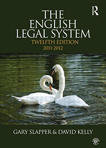 The English Legal System: 2011-2012 (Volume 2)