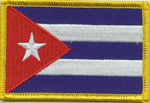 U24Toppa termoadesiva con bandiera di Cuba