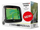 Tom Tom Motorcycle 410 Sat Nav Gps With Free Life Time World Maps