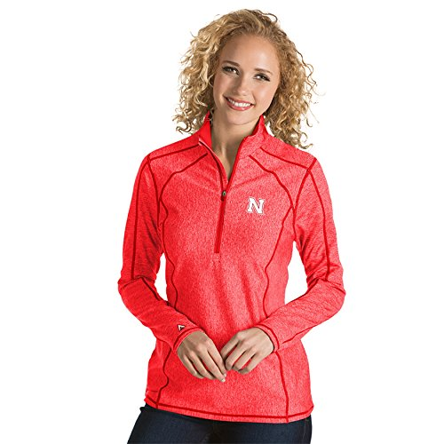 University of Nebraska Ladies Tempo 1/4 Zip Pullover (Large)