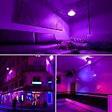 Ontesik LED UV Black Lights Bulbs, 9W A19 E26