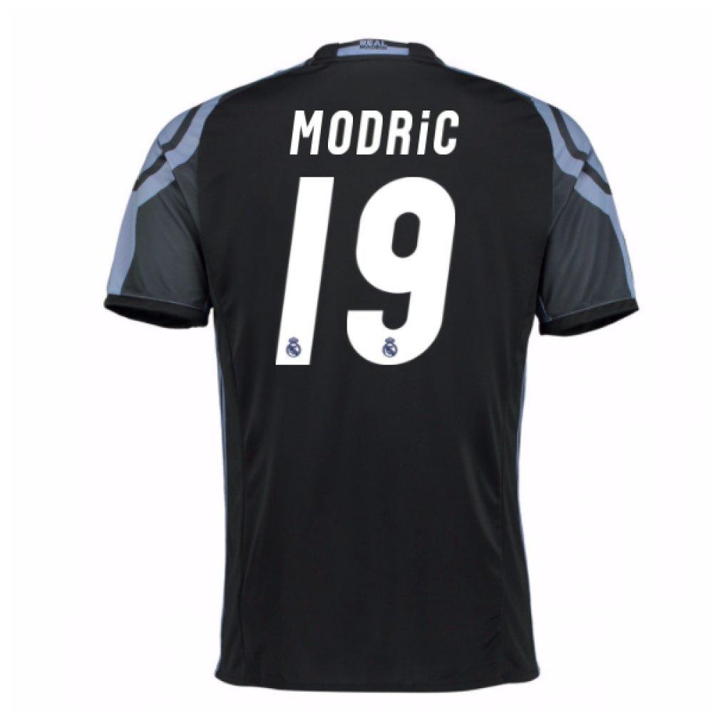 2016-17 Real Madrid 3rd Football Soccer T-Shirt Trikot (Luka Modric 19) - Kids
