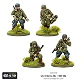 Bolt Action Us Airborne Hq (1944-45) Blister - Metal