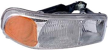 For 1999-2007 GMC Sierra Passenger Side Headlight Head Lamp RH