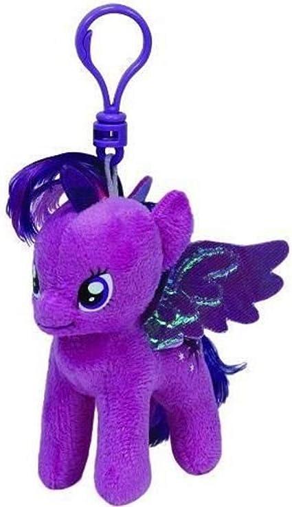 Amazon.com: Ty Beanie Baby – My Little Pony – Twilight Sparkle Keychain  Ty41104: Toys & Games